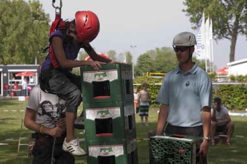 klimmen met kinderen